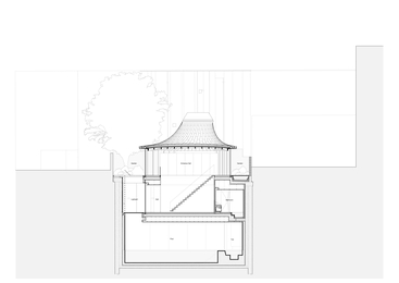 House in a Garden Drawings