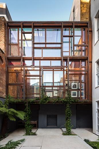 Layered Gallery London Uk Projects Gianni Botsford